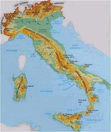 apennins italie